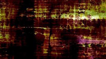 dados abstratos formas de pulso e cintilação video