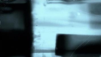 El líder de la película abstracta parpadea video