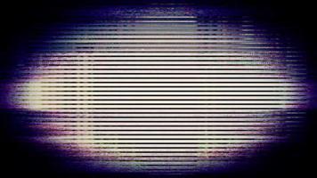 os pixels da tela da tv flutuam com o movimento