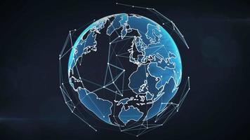 concepto de conexiones globales.