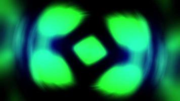 forme di luce astratte pulsano e sfarfallano