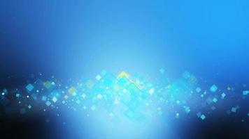 fundo de movimento de cor azul e amarelo legal. video