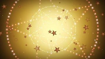 fondo del círculo de estrellas
