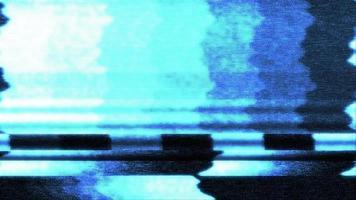 Hud-Element einer holographischen Bildschirmstörung