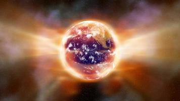 aquecimento global aura da terra