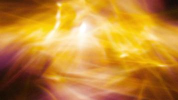 Golden Auras Of Light Ripple And Shine