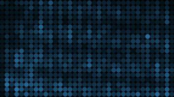 abstração de ponto azul flutuante