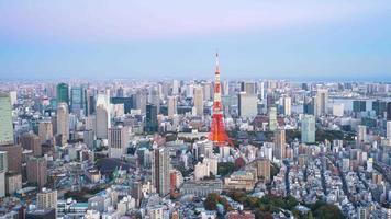 edifícios de Tóquio, Japão video