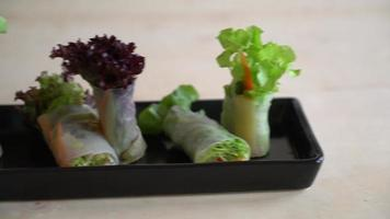 Noodle Spring Roll video