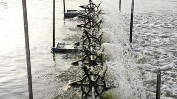 Turbine Working in The Water