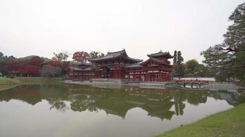 Byodoin temple, Byodo-in, by the lake, Uji City, Kyoto, Japan