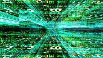 Reisen durch ein Labyrinth von Daten video
