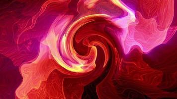 bucle abstracto colorido acrílico acuarela efecto de desplazamiento turbulento