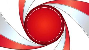 fondo de círculo retorcido