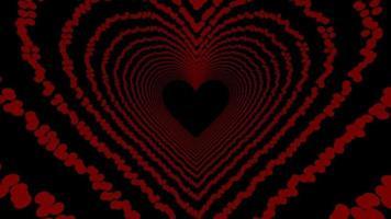 animação do túnel do coração