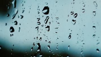 gotas de chuva na janela video
