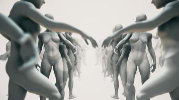 sculptures ou mannequins de magasin
