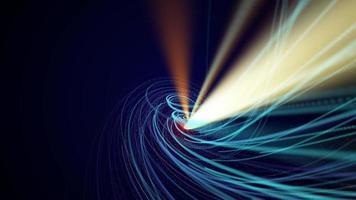 líneas de velocidad en espiral