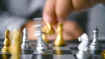 un juego de ajedrez