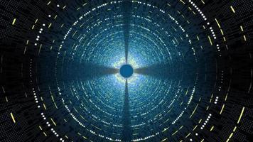 túnel de alta tecnologia