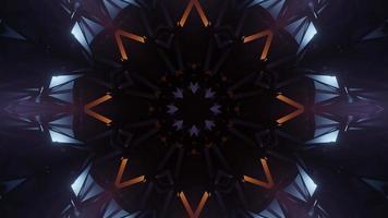 Abstract Uhd Kalaidoscope Dj Loop