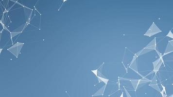 fondo de red de tecnología abstracta