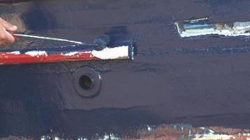 peinture sur bois peintre