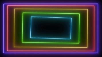 várias cores em uma caixa. video