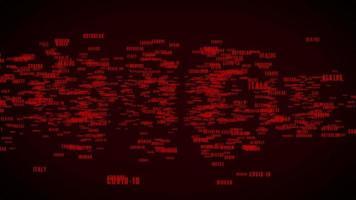 texto covid-19 revela animação