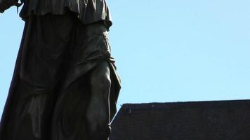 Détail de la statue de la justice
