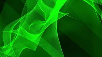 loop digital green mesh wave motion background futurista video