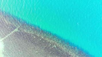 Aerial view Coral line video
