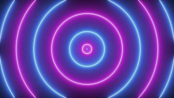 Animation of Pink and Blue Circles