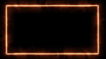 moldura de luz video