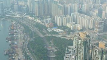 Traffic in Kowloon, Hong Kong