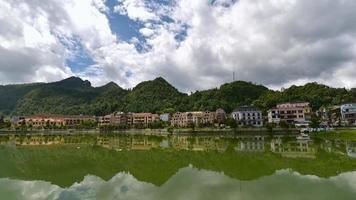 The city center of Sapa Village, Vietnam