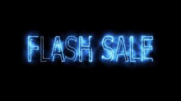 animación de venta flash video