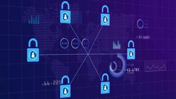 fond numérique blockchain