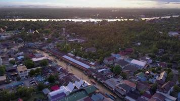 Ampawa Floating Market, Thailand. video