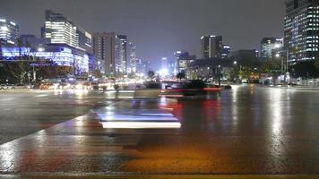 Traffic in Seoul City