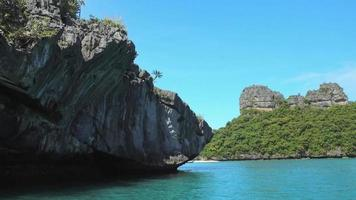 Ang Thong National Marine Park Near Touristic Samui, Thailand