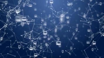 Network Communication Background.