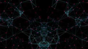 Abstract dark network background