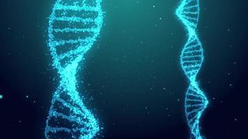fundo de rotação da hélice do DNA