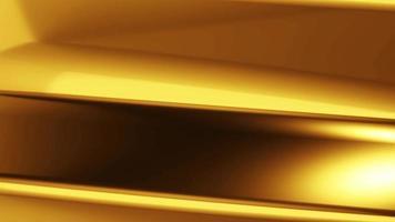 Animation gold background. 4k Footage
