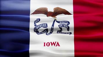 Iowa Flag Schleife