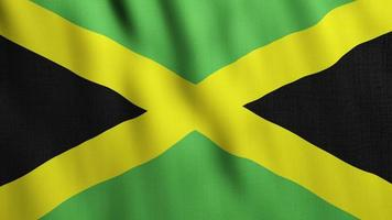 Jamaica Flag Waving