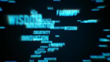 abstrakter Geschäftsarbeitstext enthüllen