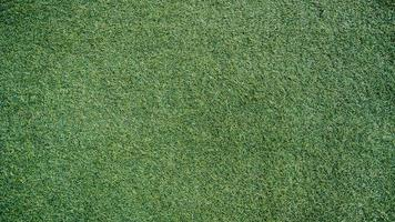 Green artificial grass in the park