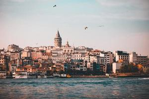 View of Istanbul from the water